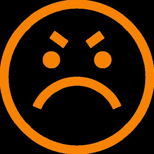 Cliente enfadado o enojado